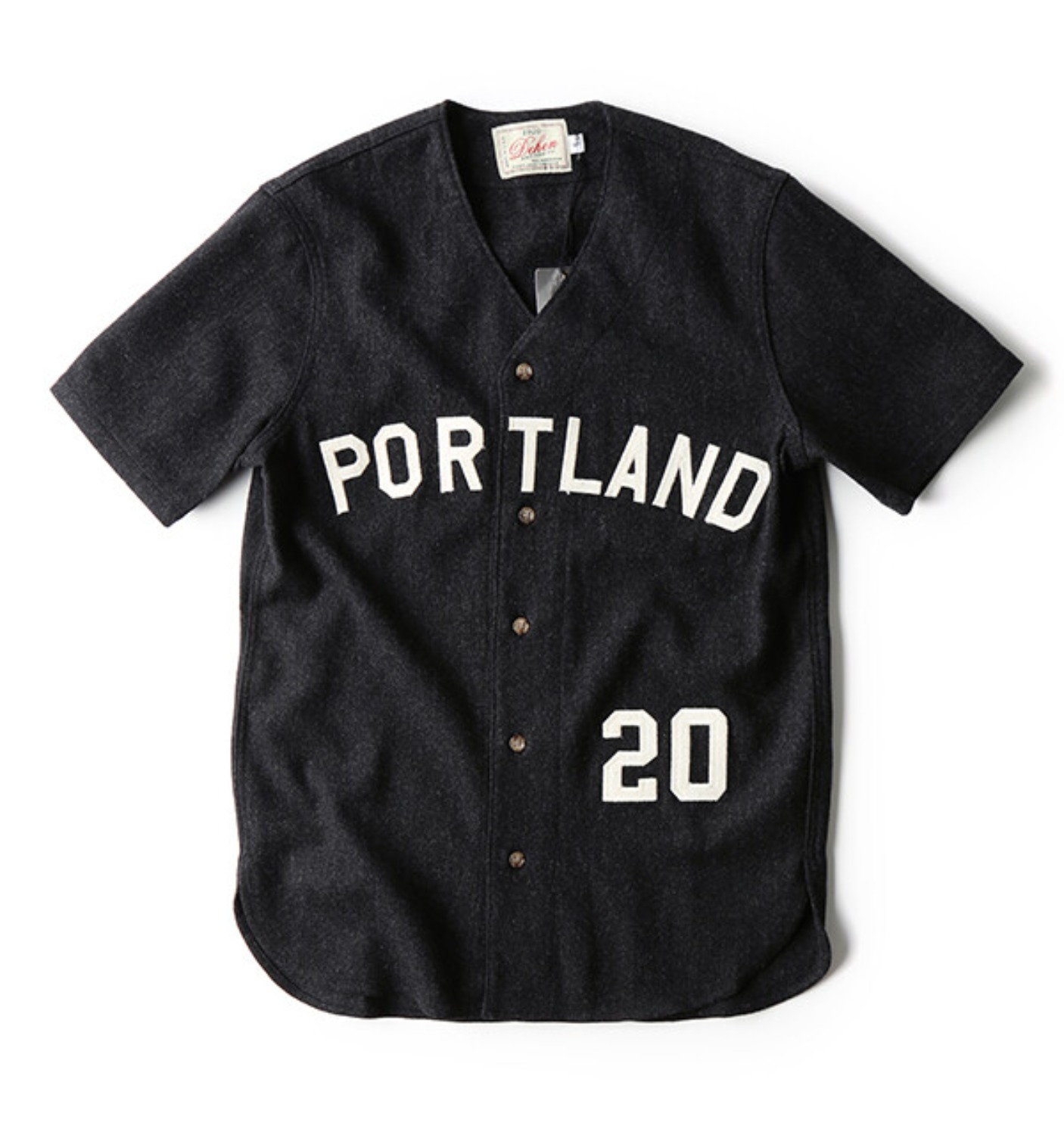 Batting Shirt Dark Charcoal