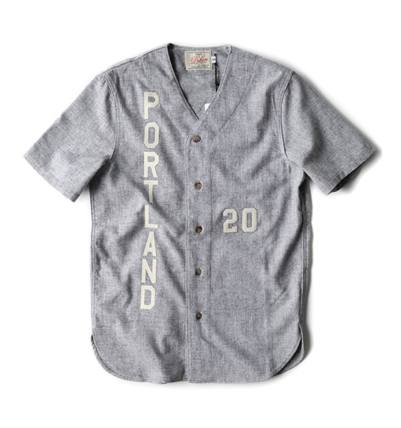 Batting Shirt Light Grey