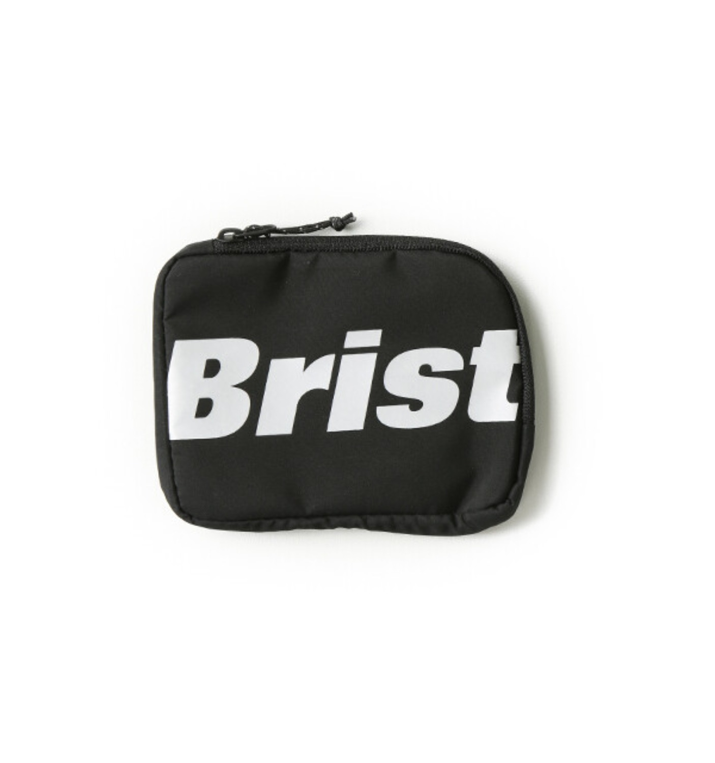 BIG LOGO COIN CASE BLACK