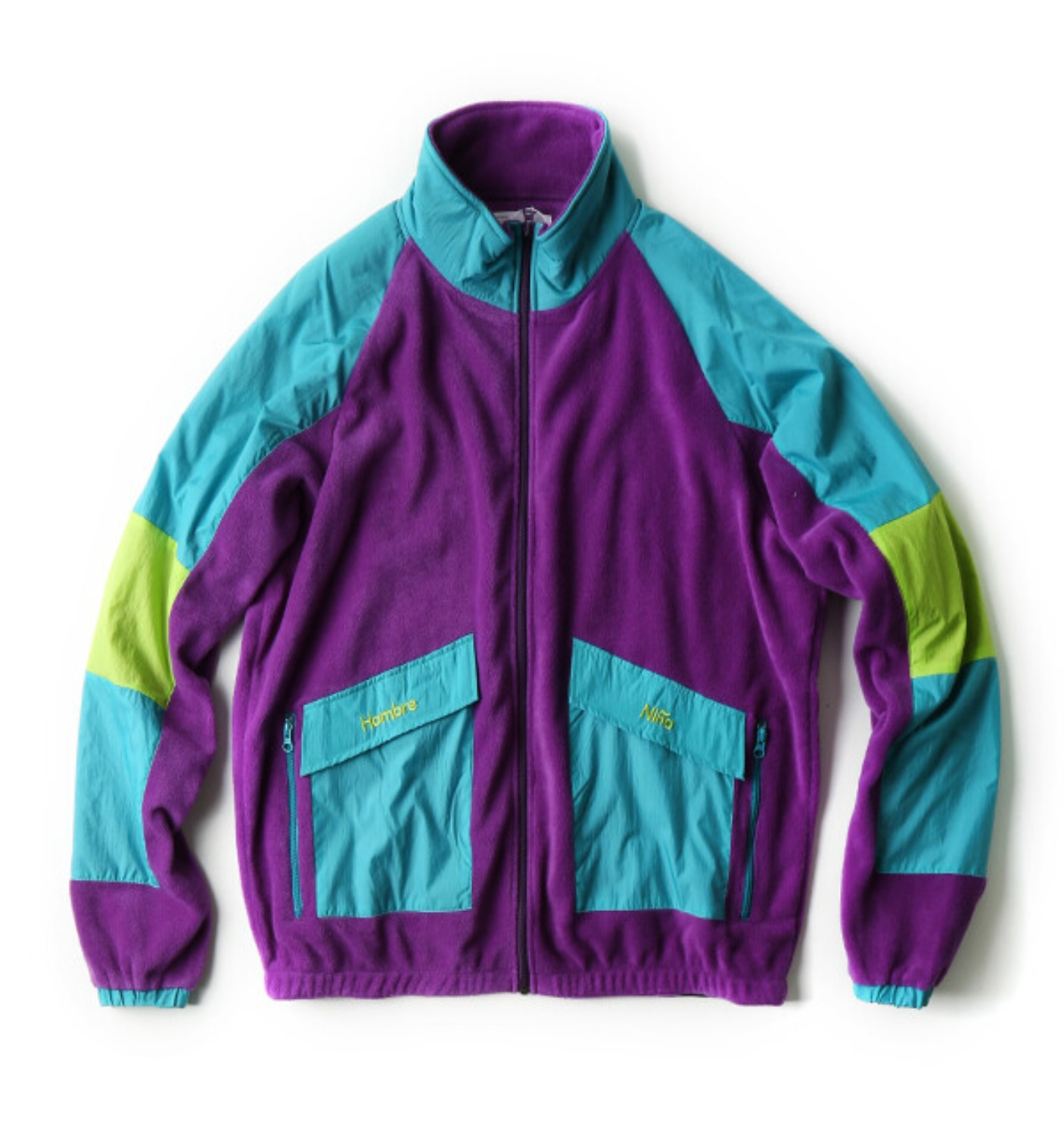 HN FLEECE JACKET PURPLE