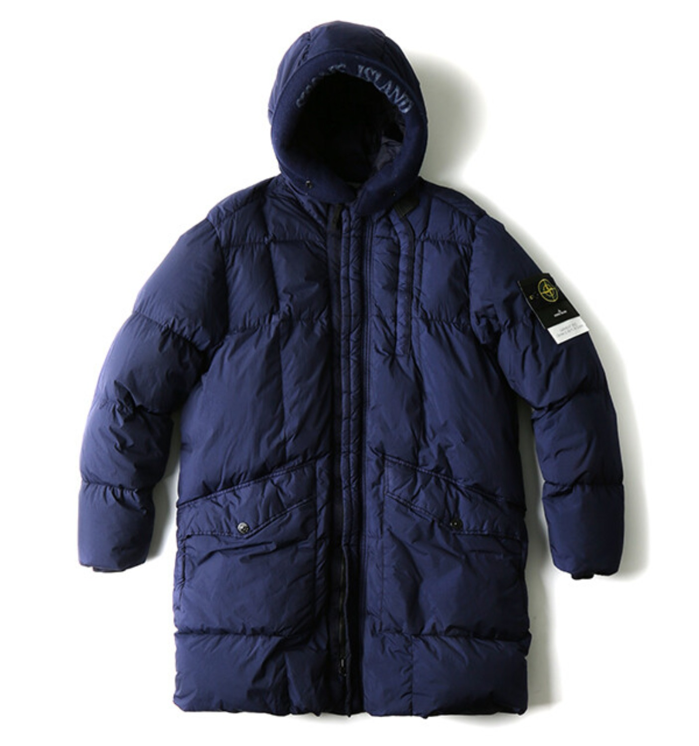 GARMENT DYED CRINKLE REPS NY DOWN PARKA NAVY