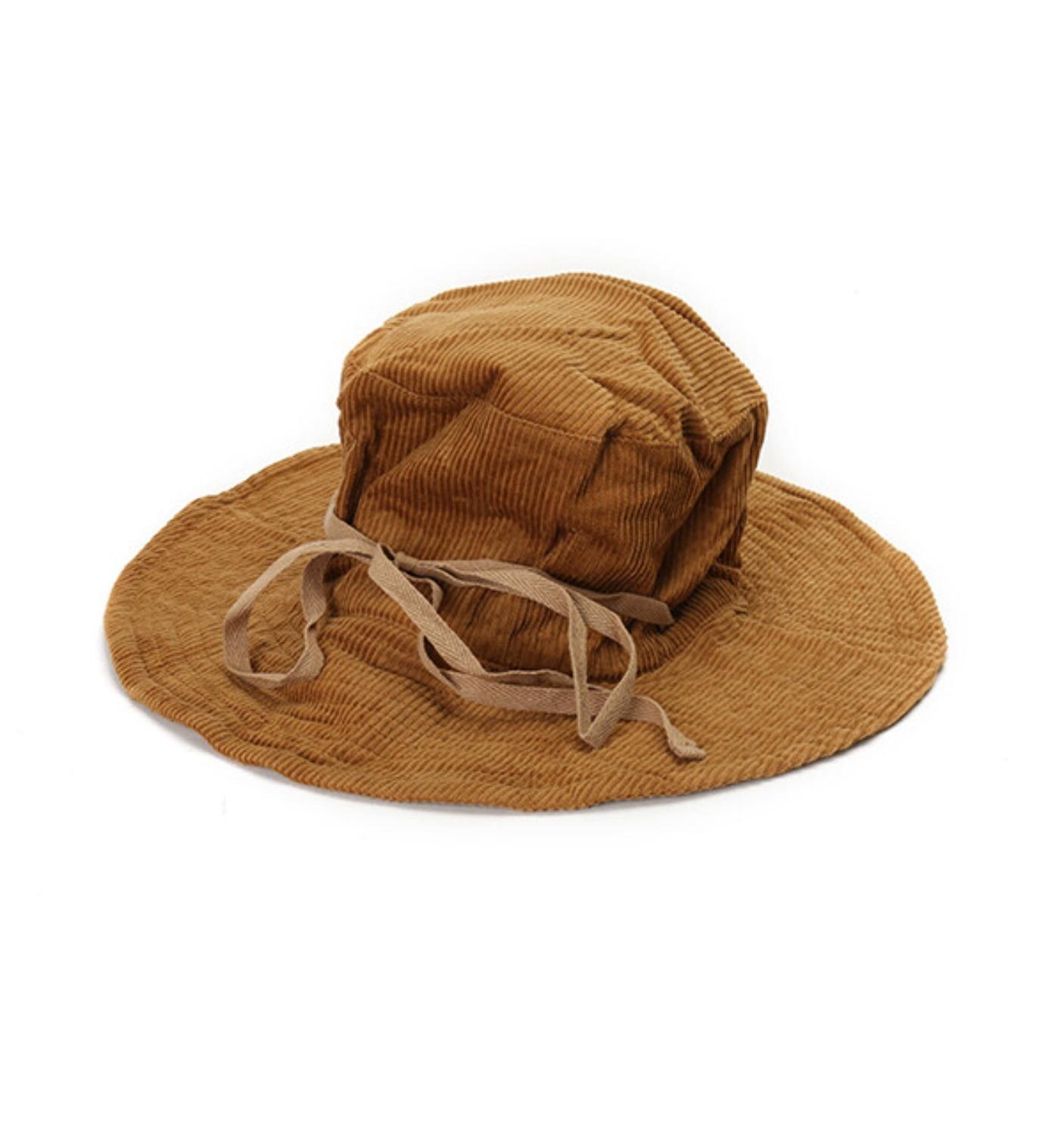 CRUSHER HAT CHESTNUT 8W CORDUROY(F8H0556)