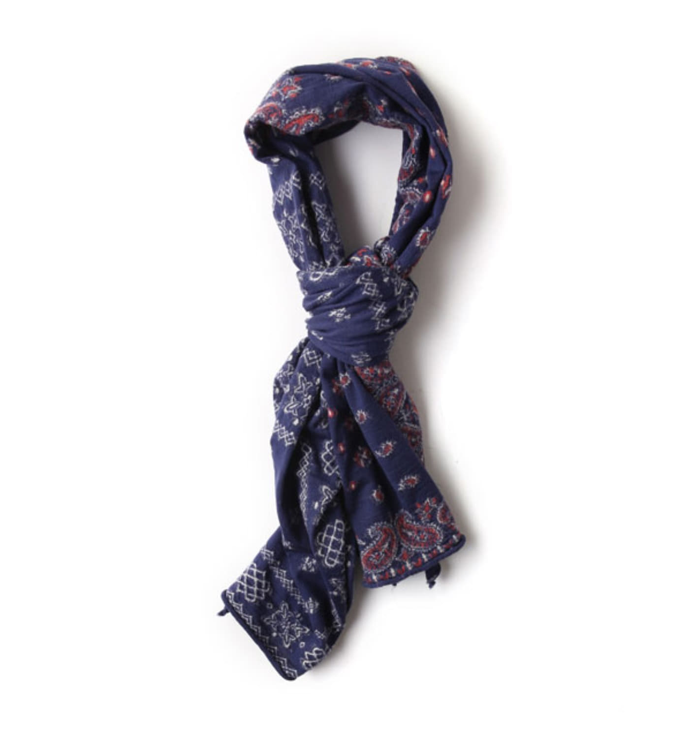 Compressed Wool Scarf - 13