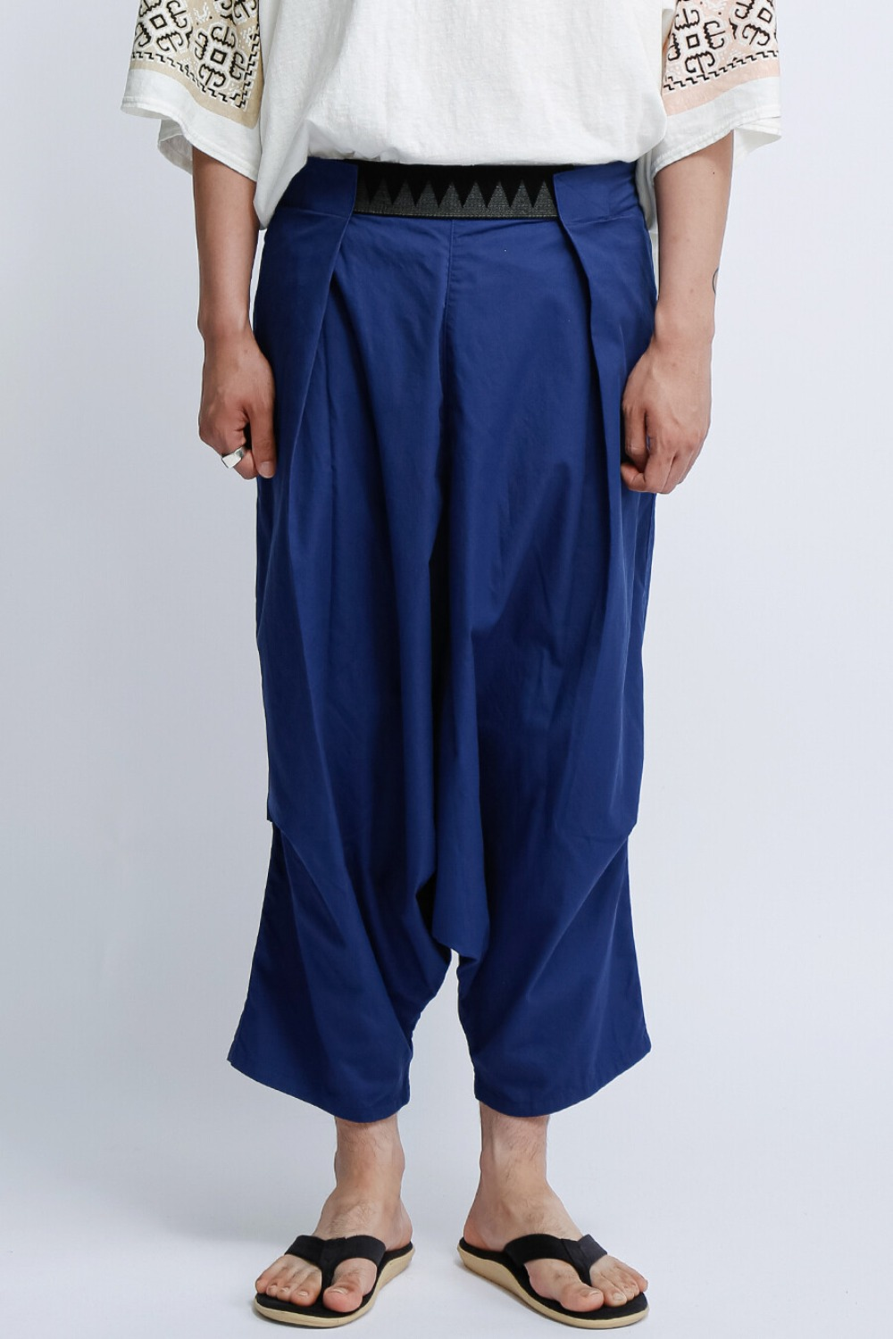 COMA BURBERRY COTTON EASY BEACH GO SALEL PANTS BLUE