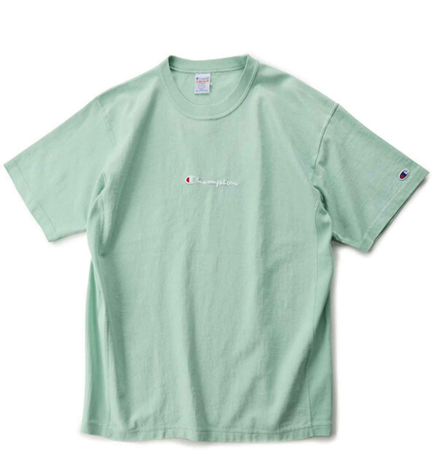 REVERSE WEAVE 9.4OZ T SHIRT LIME