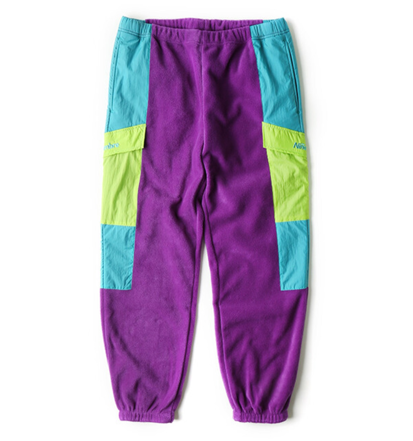 HN FLEECE PANTS PURPLE