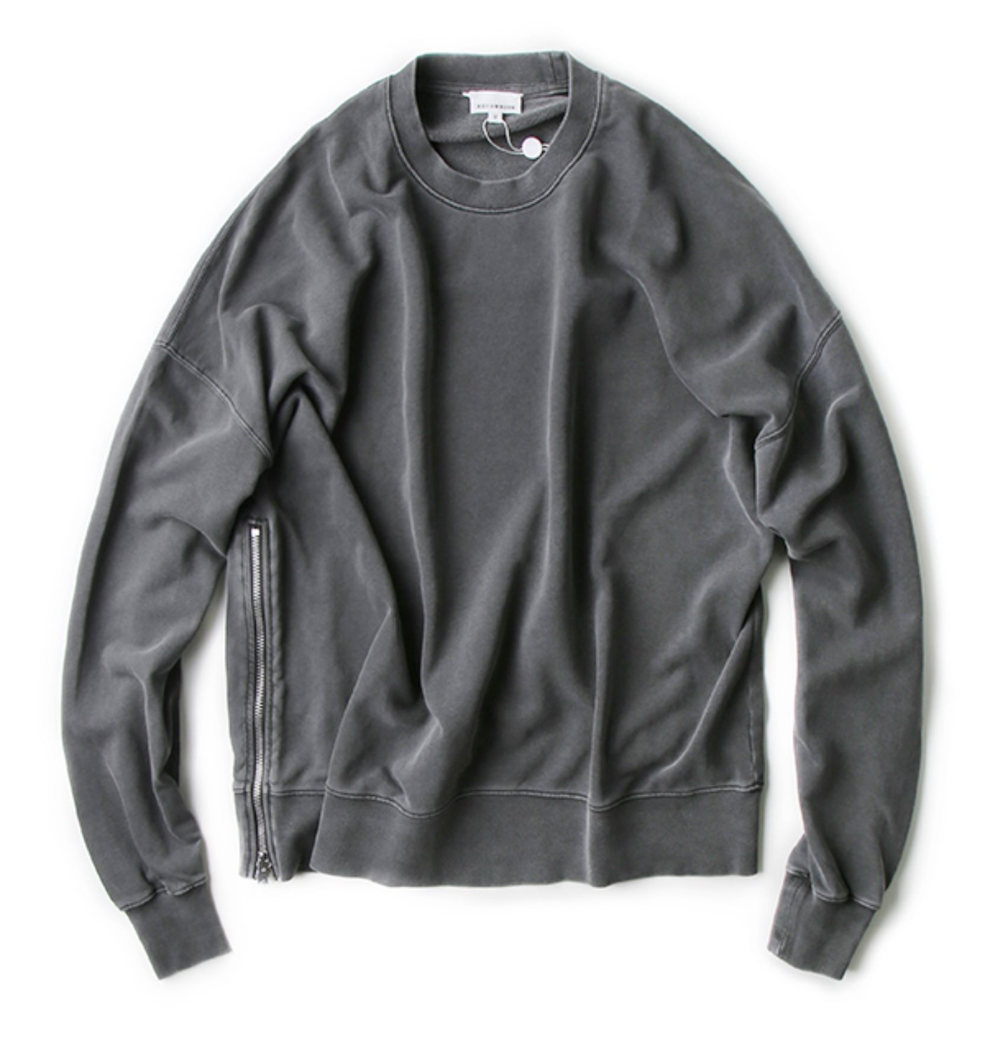 SCULP X AECA WHITE OVERSIZE SWEATSHIRT CHARCOAL(EXCLUSIVE)