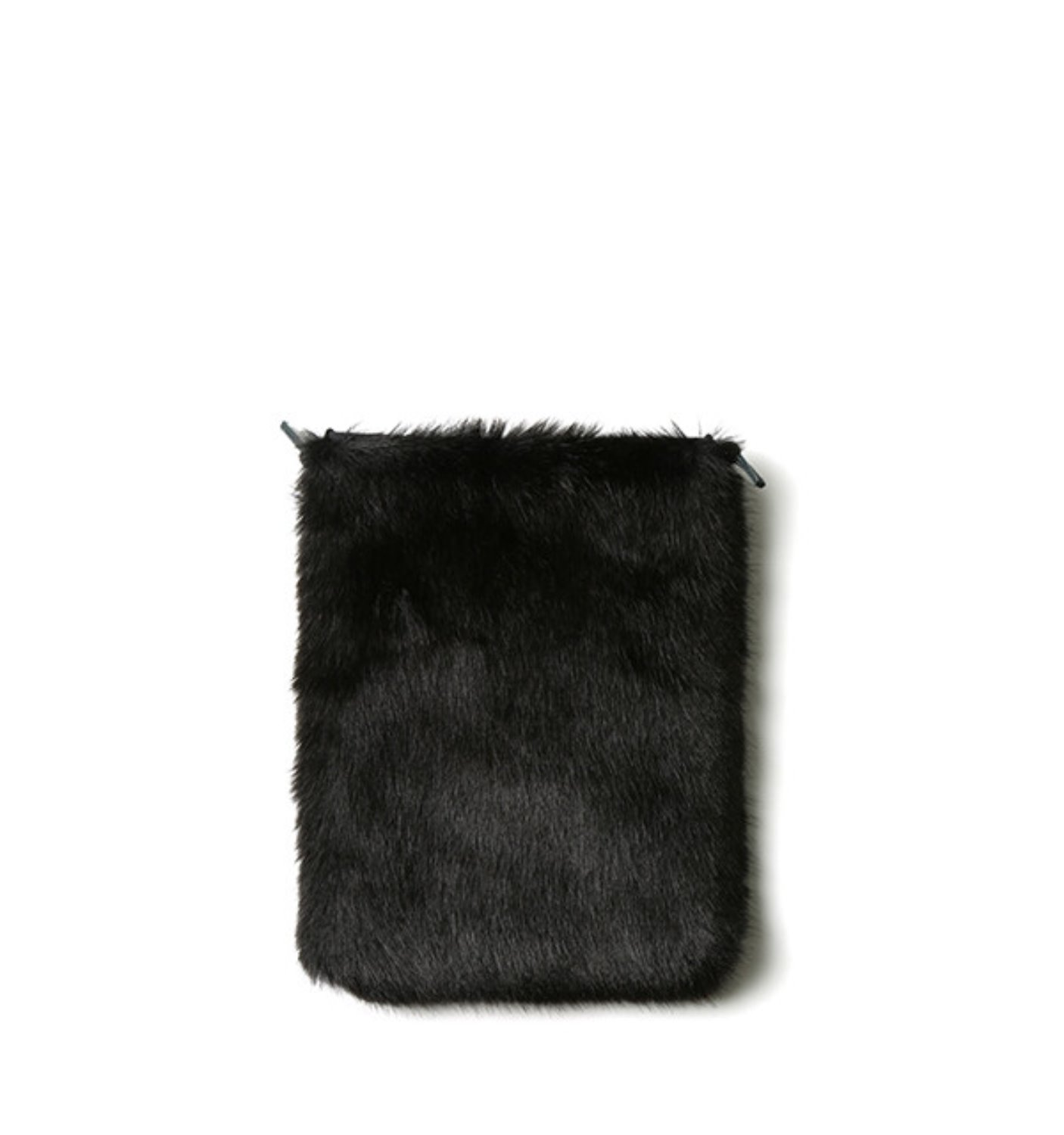 PASSPORT SHOULDER-FAKE MINK FUR ZORO BLACK(17402MF)