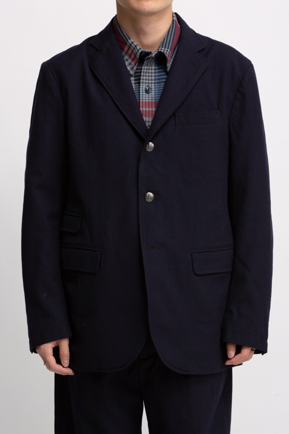 LAWRENCE JACKET DARK NAVY WOOL UNIFORM SERGE