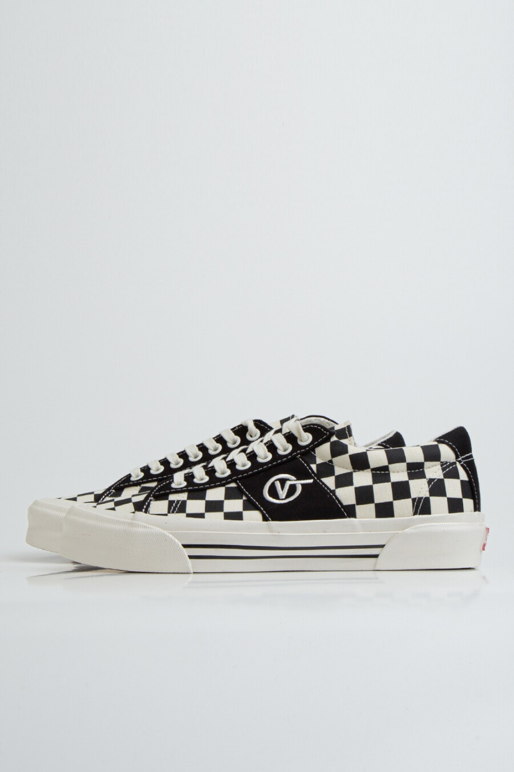 OG SID LX(CANVAS/CHECKERBOARD) BLACK/WHITE