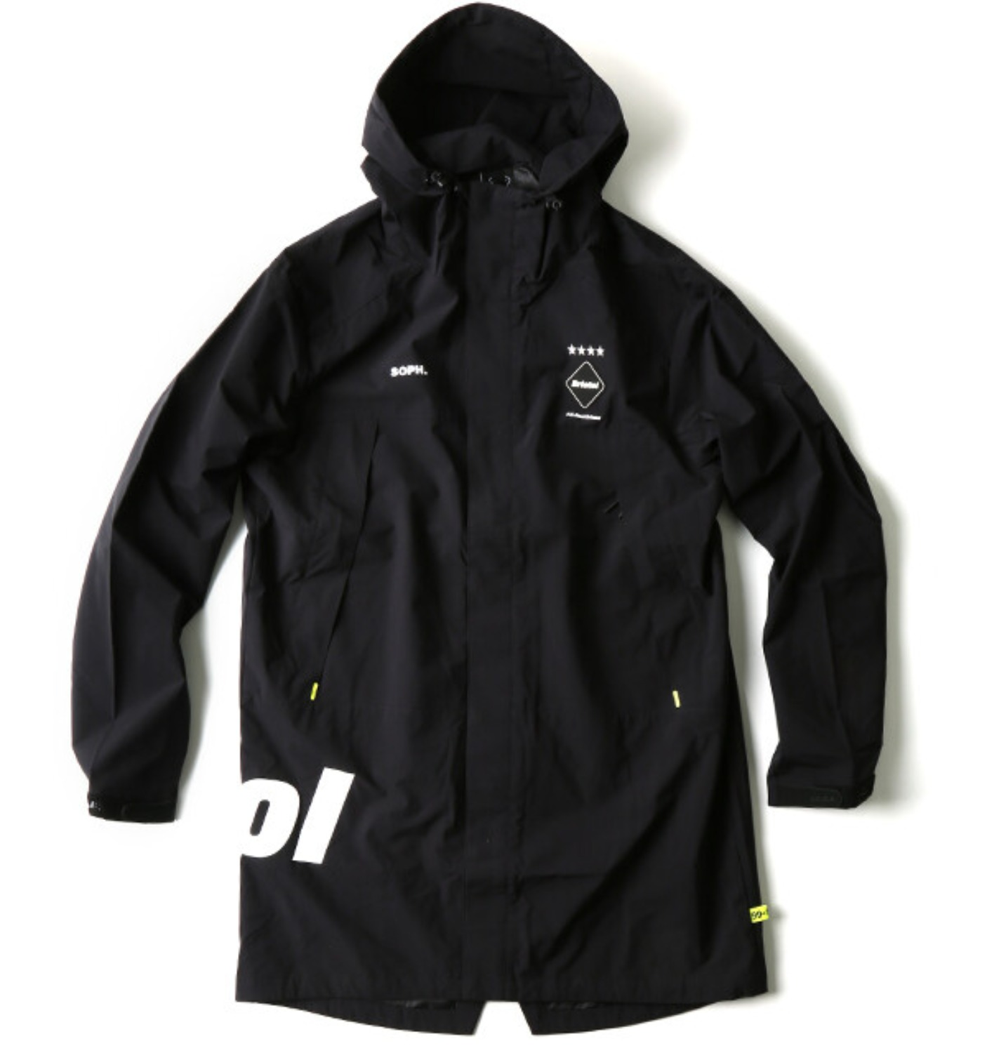 TOUR BENCH COAT BLACK