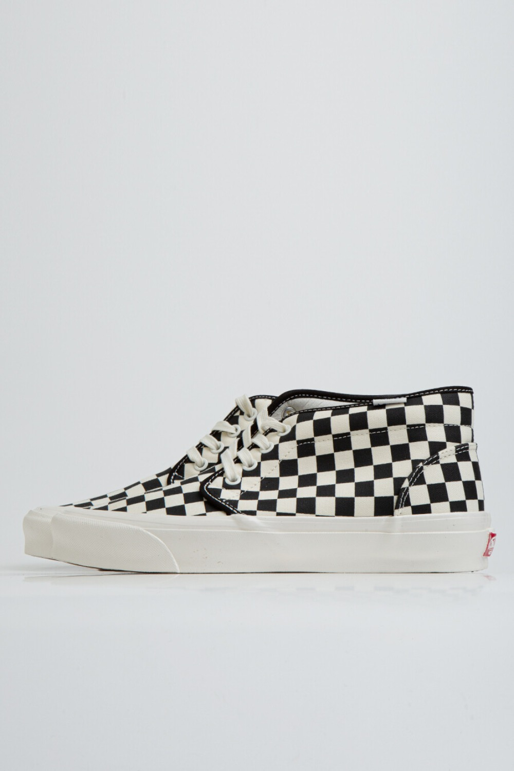 OG CHUKKA LX(CANVAS/CHECKERBORAD) BLACK/WHITE