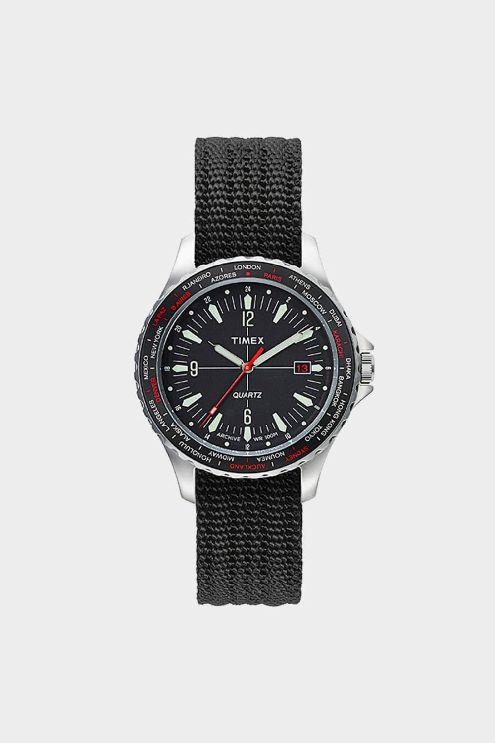 TIMEX ARCHIVE NAVI 38MM BLACK (TMTW2T83400)