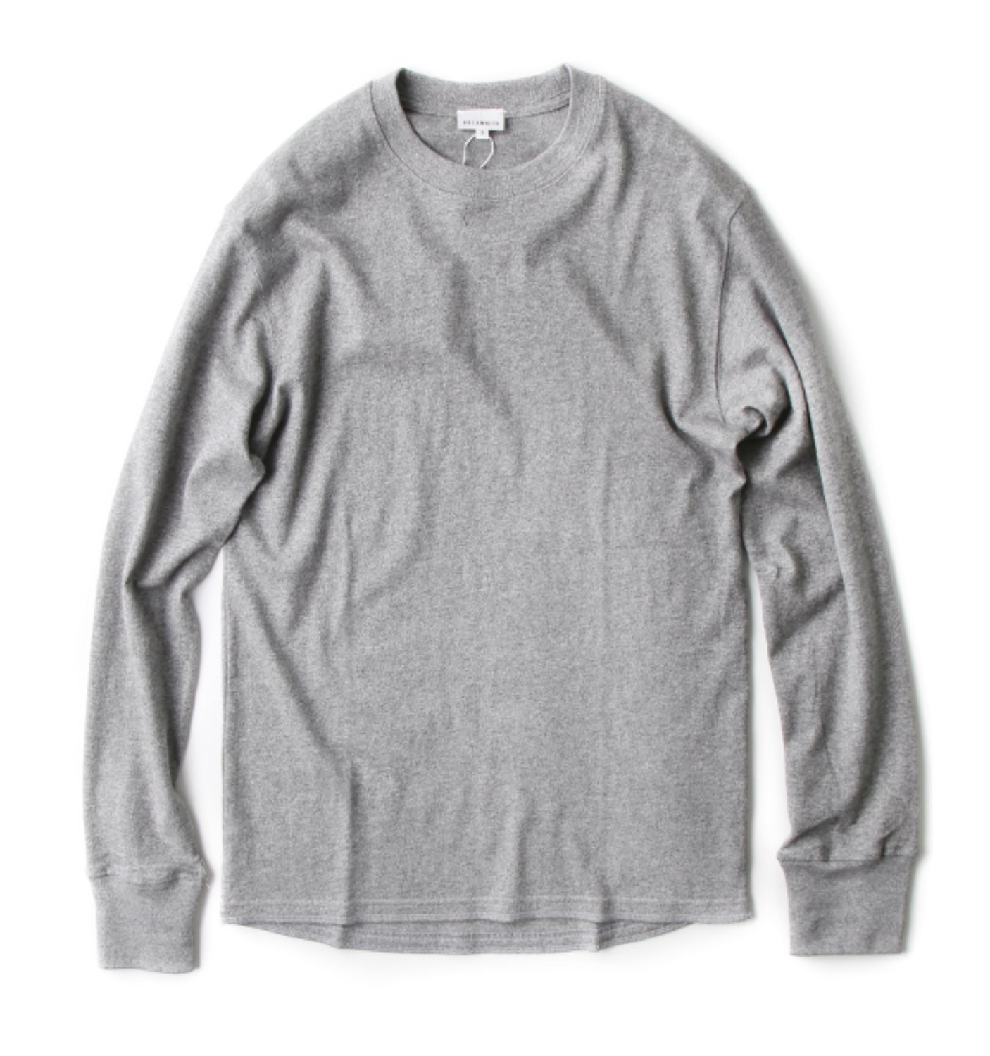 LONG SLEEVE TEE GREY