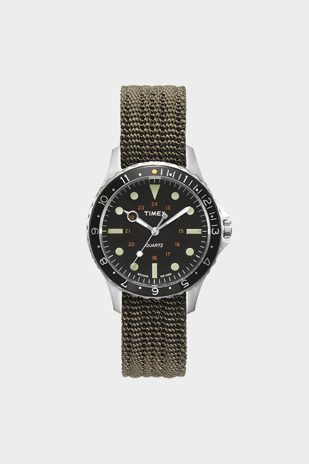 TIMEX ARCHIVE NAVI 38MM BLACK (TMTW2R73300)