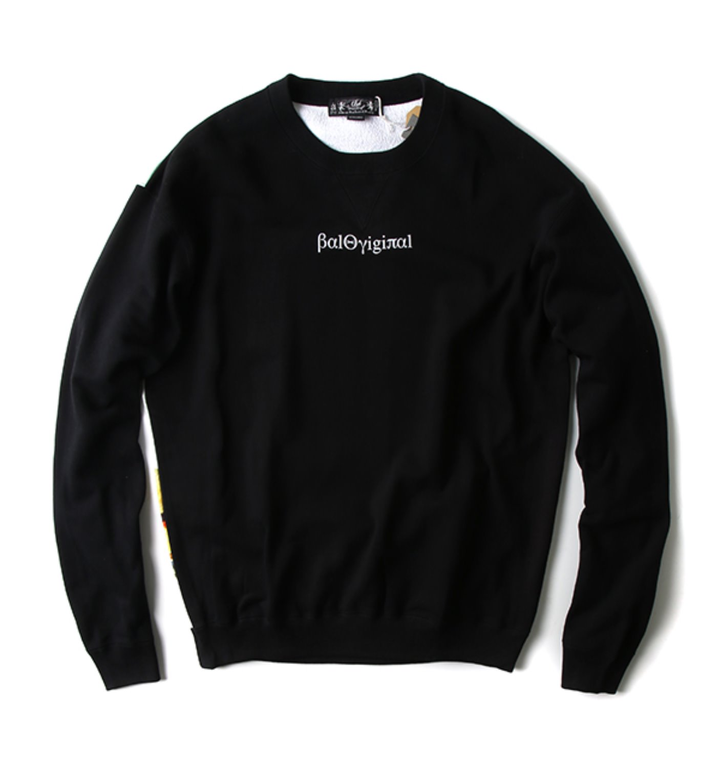 CREWNECK SWEATSHIRT BLACK(BAL-1683)