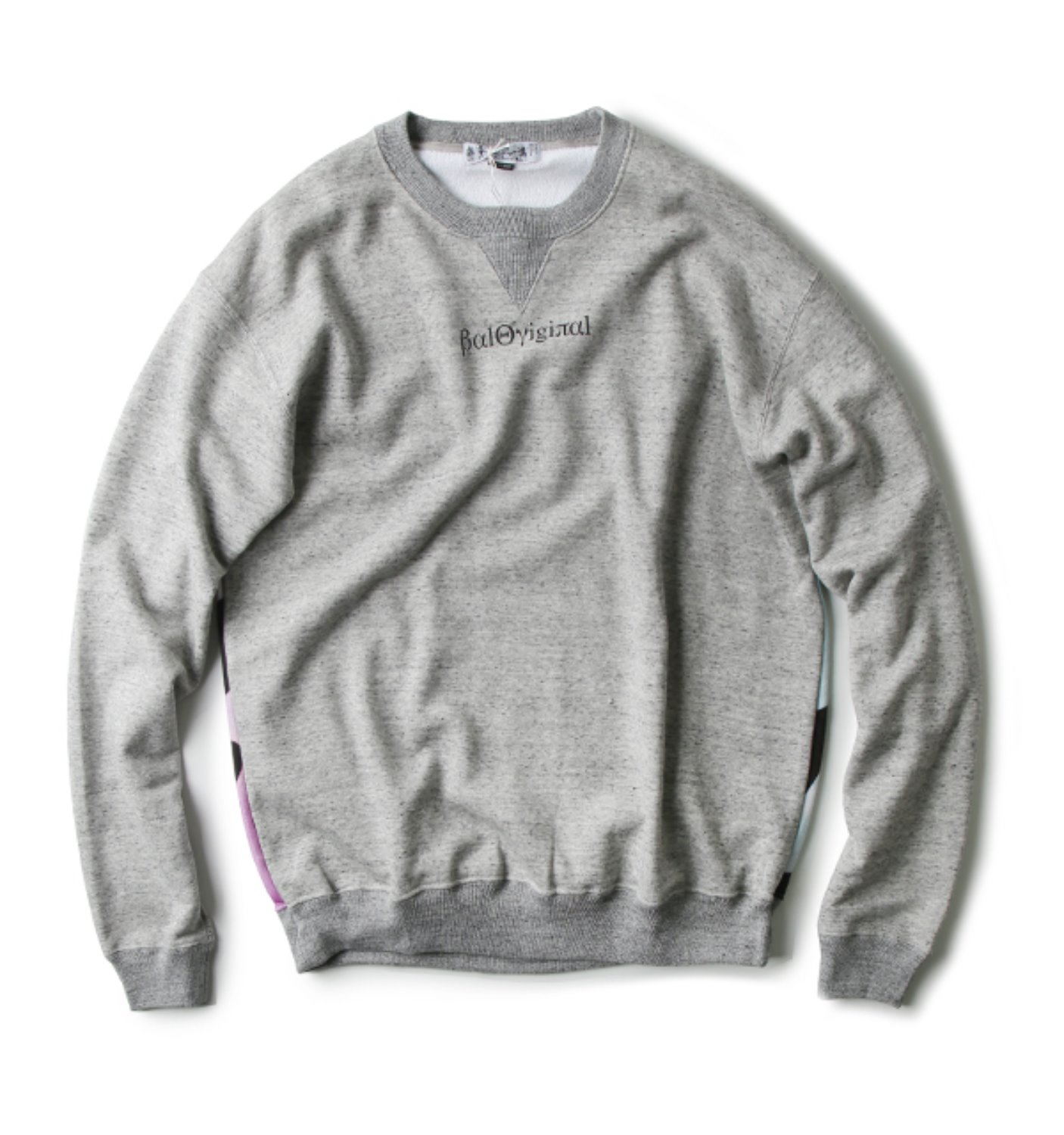 CREWNECK SWEATSHIRT GREY(BAL-1683)
