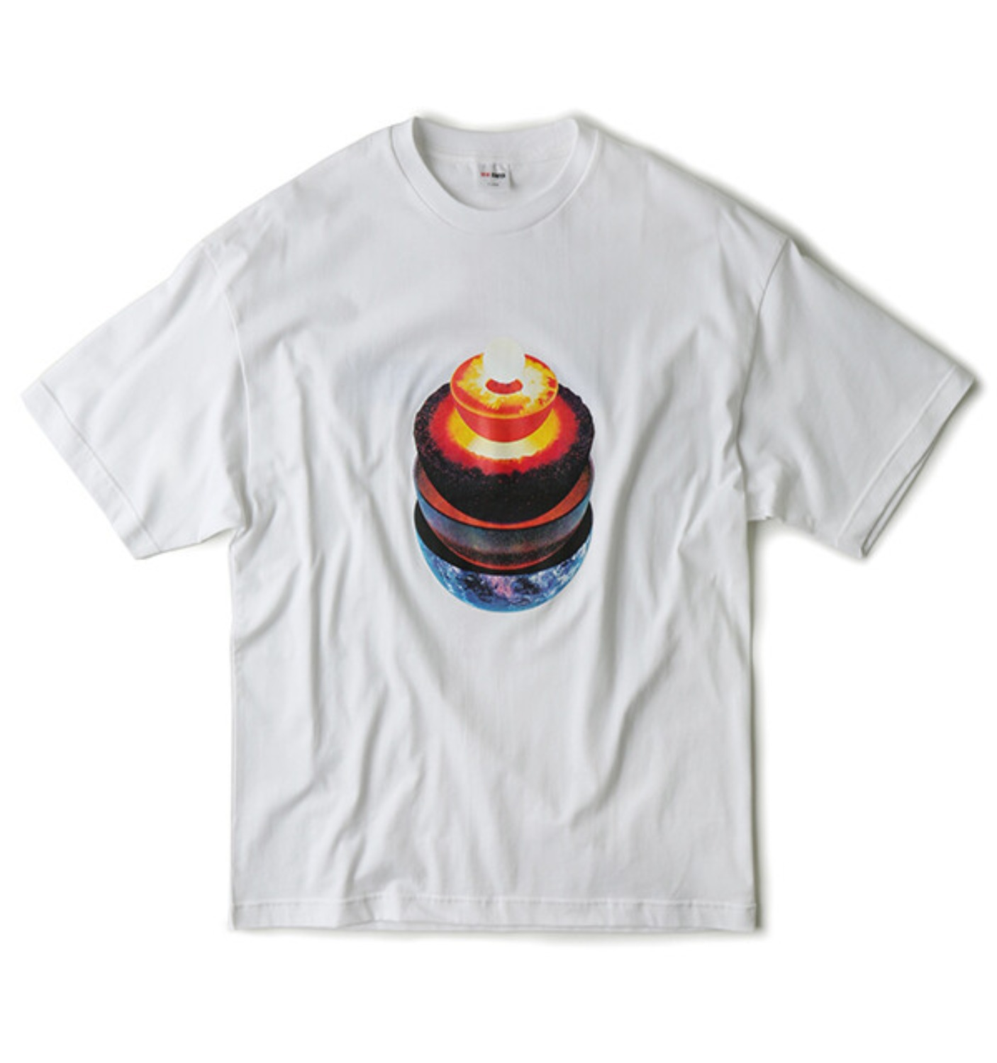 FRACTION T SHIRT WHITE