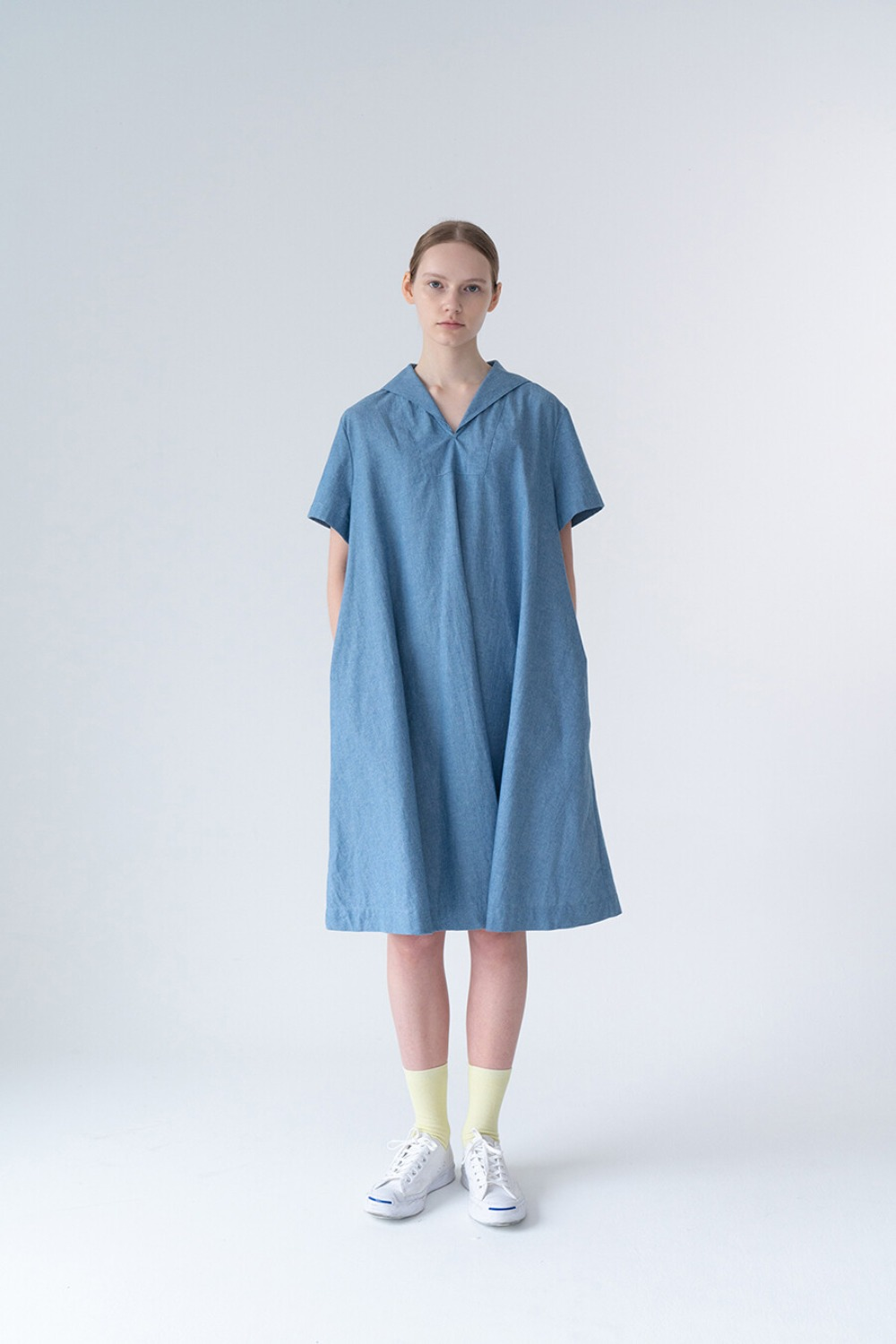SAILOR FULL DRESS-CHAMBRAY