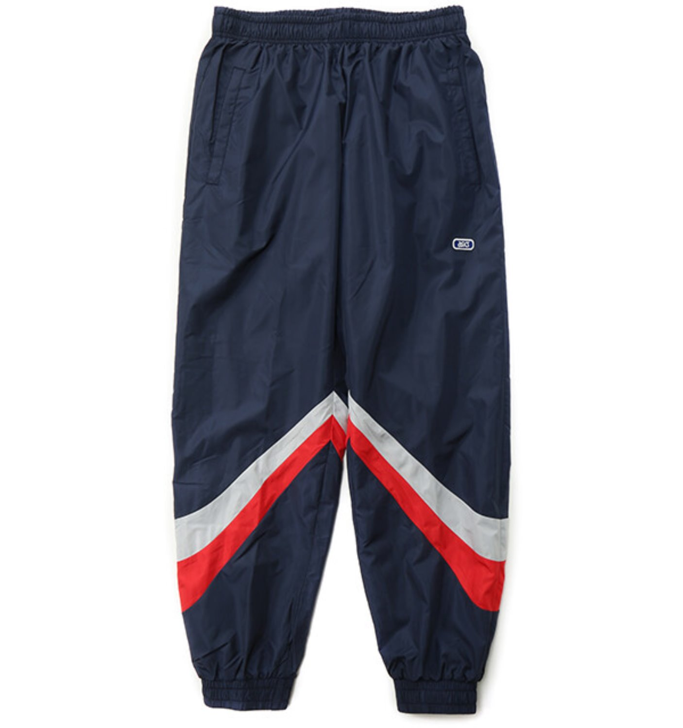COLOR BLOCK WOVEN TRAINER PANT MIDNIGHT