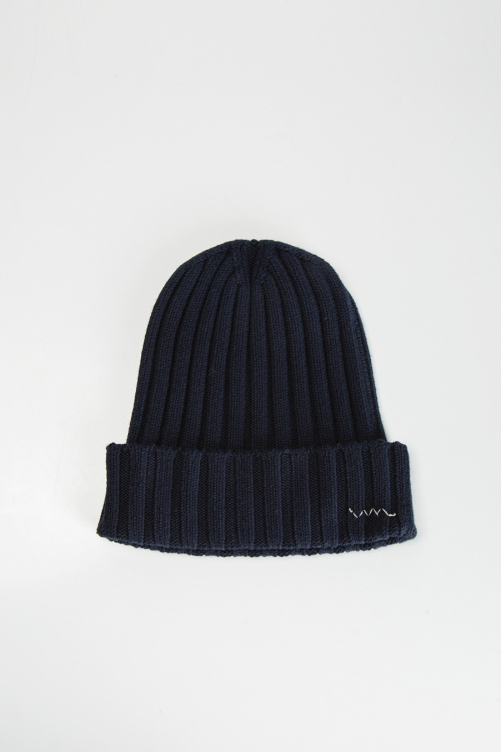 KNIT CAP COTTON NAVY