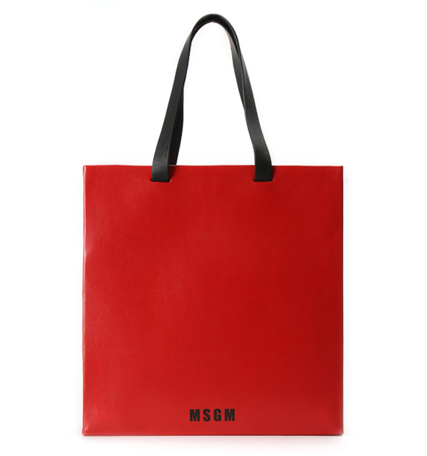 BORSA DONNA WOMAN SHOPPING BAG RED(2341MDZ55X)