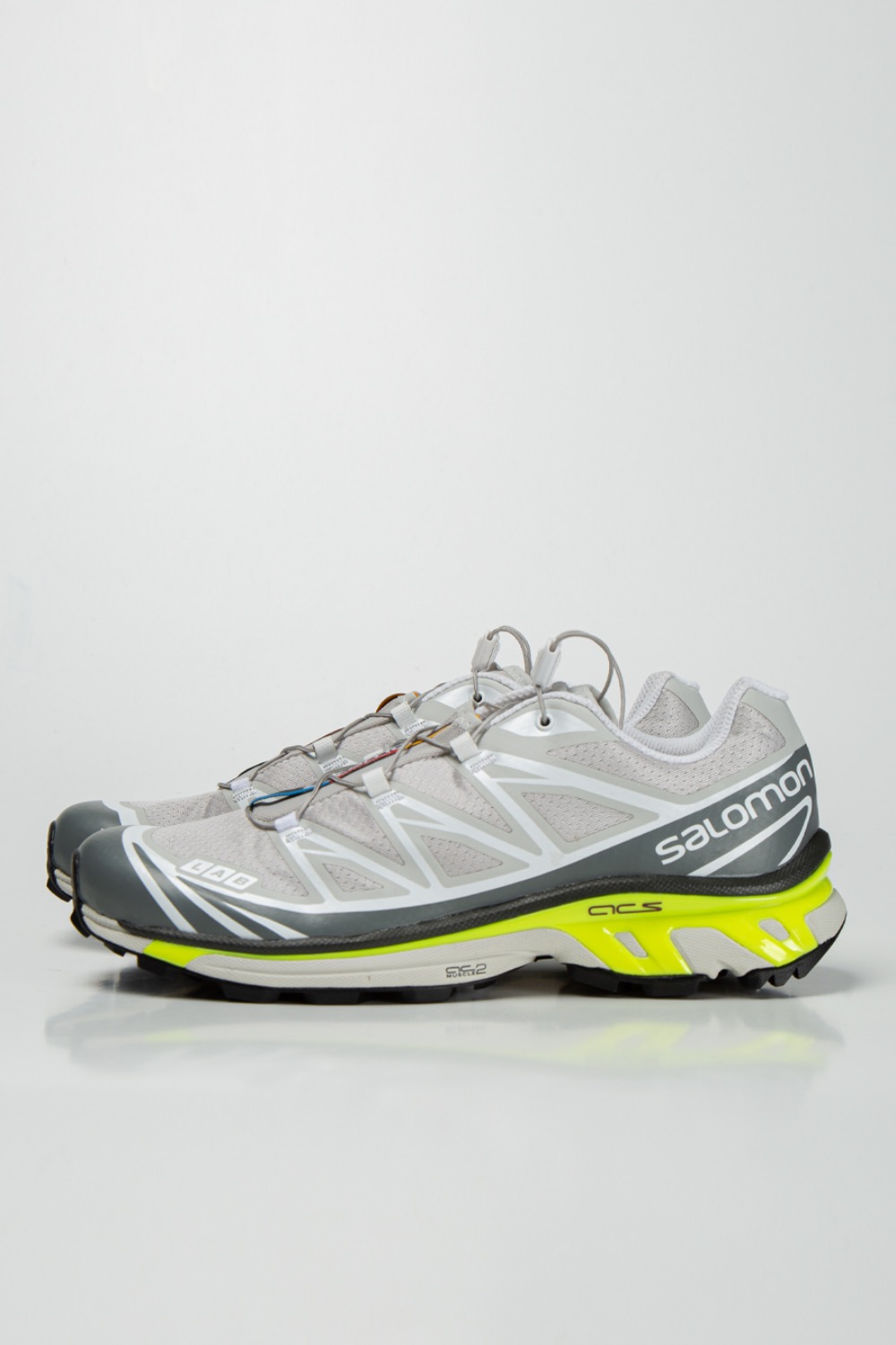 XT-6 ADVANCED LUNAR ROCK/ QUIET SHADE/ SAFETY YELLOW