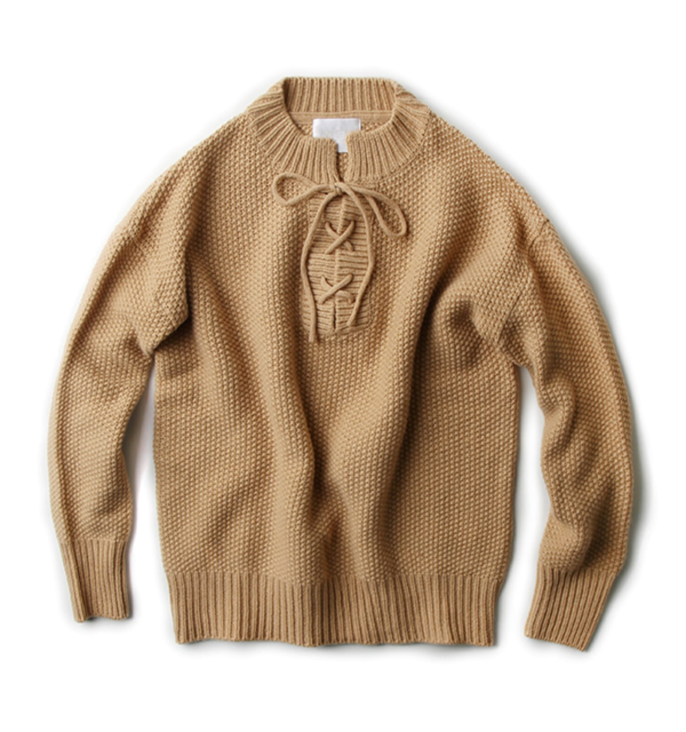 Lau KNIT PULLOVER CAMEL