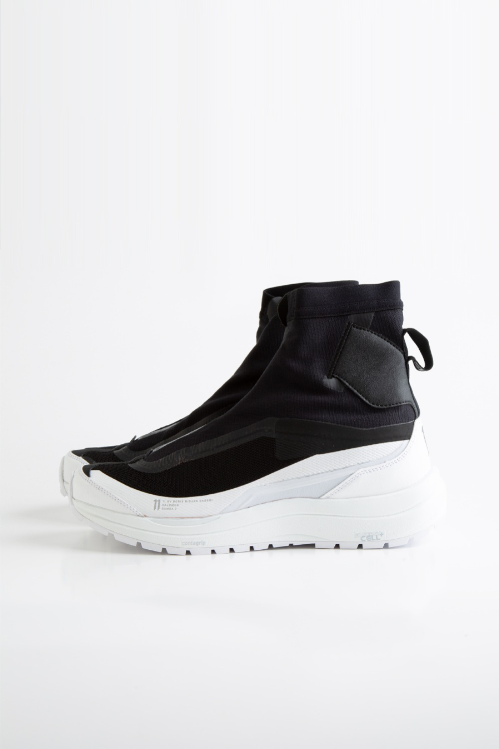 BAMBA2 HIGH BLACK/WTHIE
