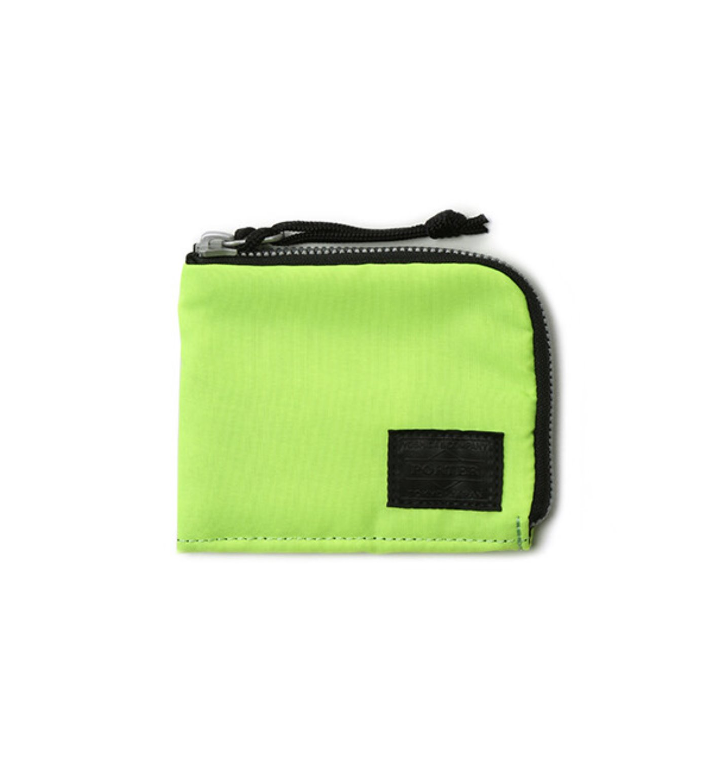 BAL/PORTER® FLGHT NYLON THIN WALLET(M) NEON YELLOW