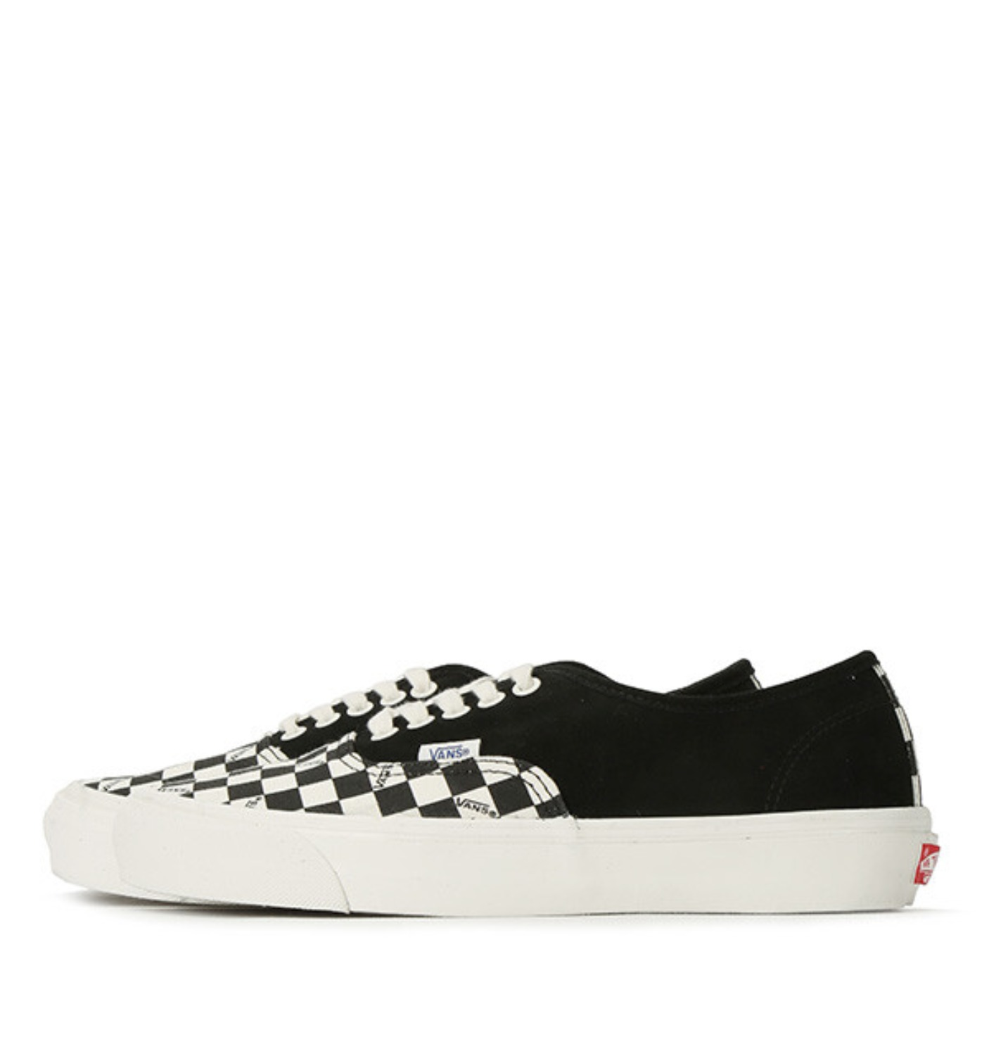 OG AUTHENTIC LX(SUEDE/CANVAS) BLACK/CHECKERBOARD