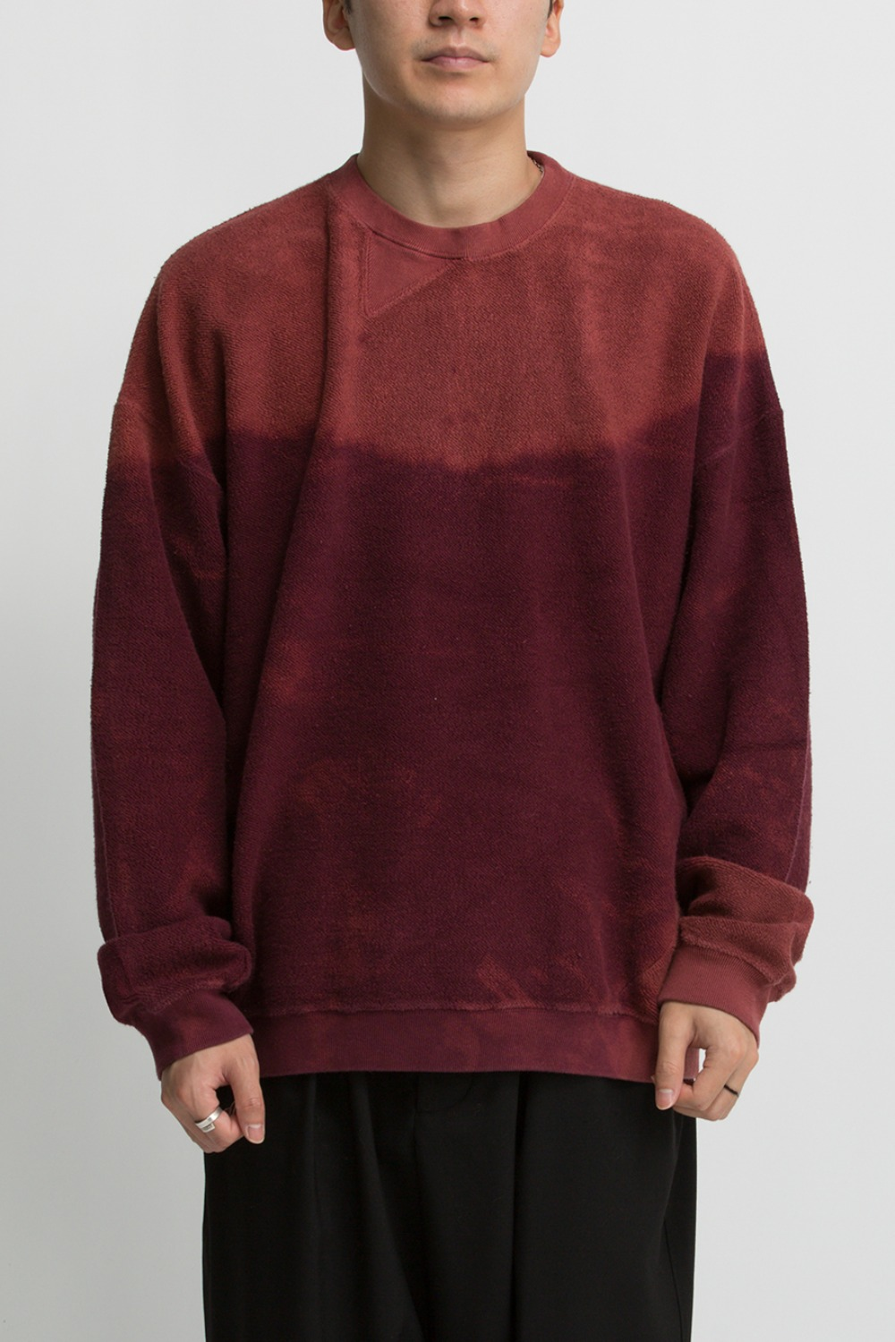 BREACH TWIST SWEAT BURGUNDY