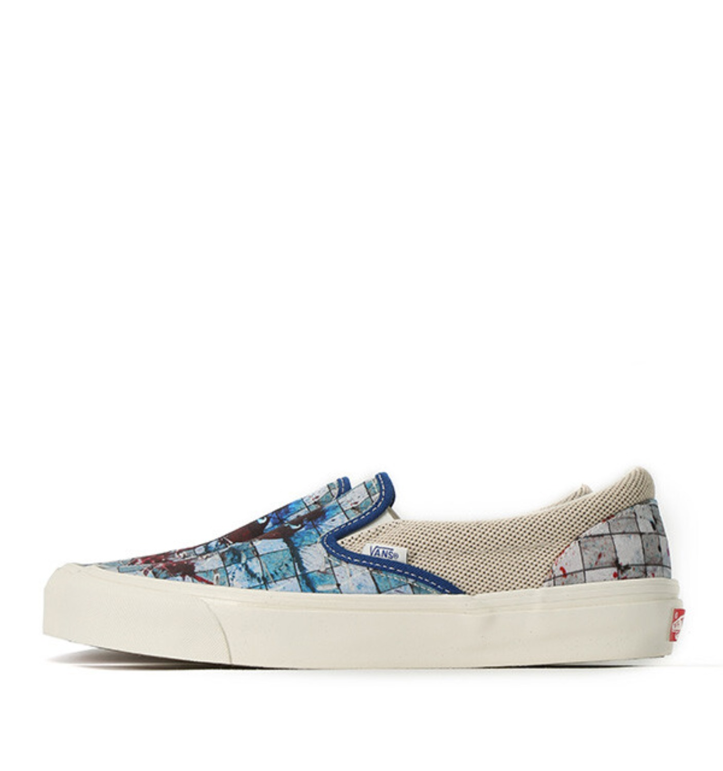 OG SLIP ON LX RALPH CHECKERBOARD SPLATTER