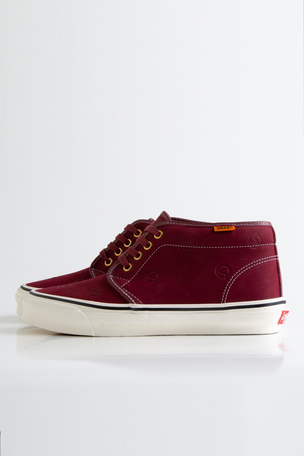 OG Chukka Boot LX(LQQK STUDIO) circle V/burgundy