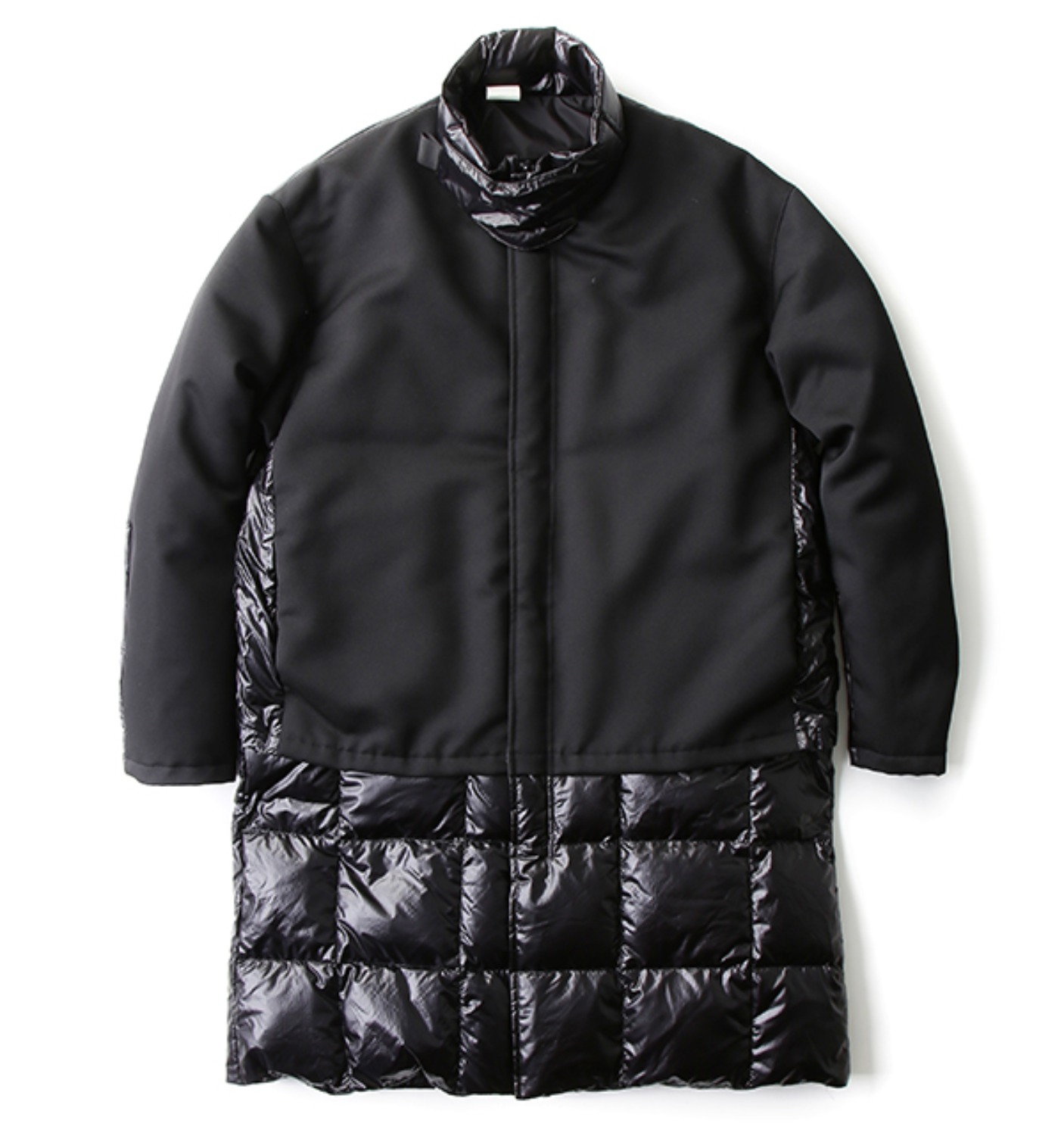DOWN COAT BLACK(162-C003007)
