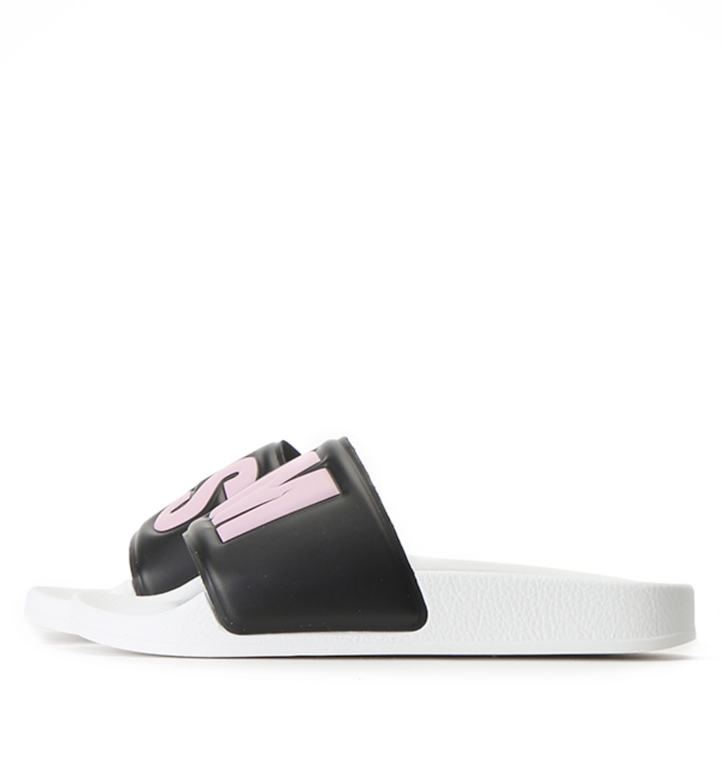 CIABATTA DONNA POOL SLIDE BLACK/PINK/OPT WHITE(2341MDS100)