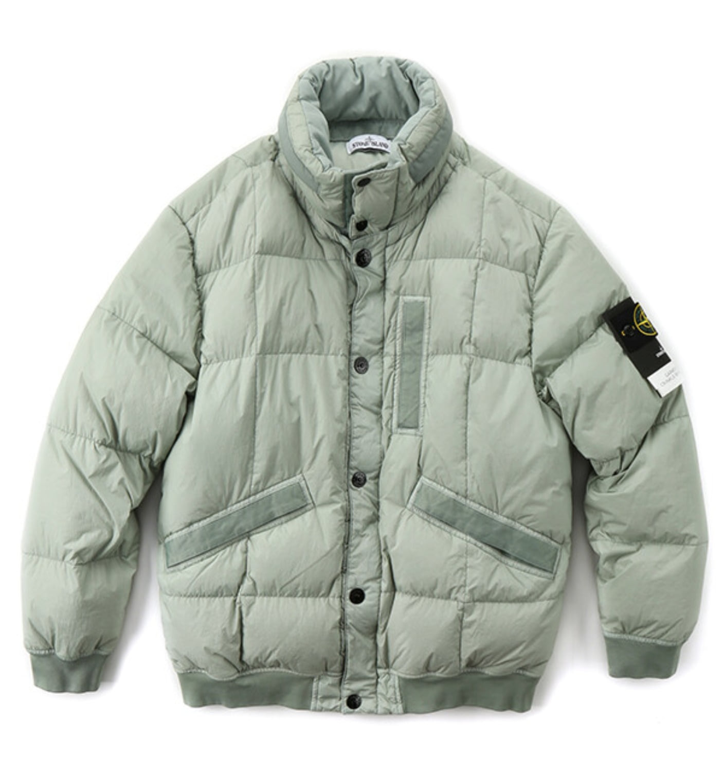 GARMENT DYED CRINKLE REPS NY DOWN JACKET POLVERE