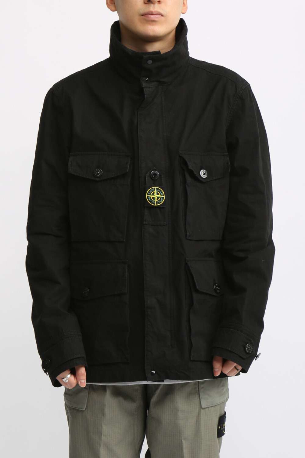COTTON/CORDURA® FIELD JACKET BLACK
