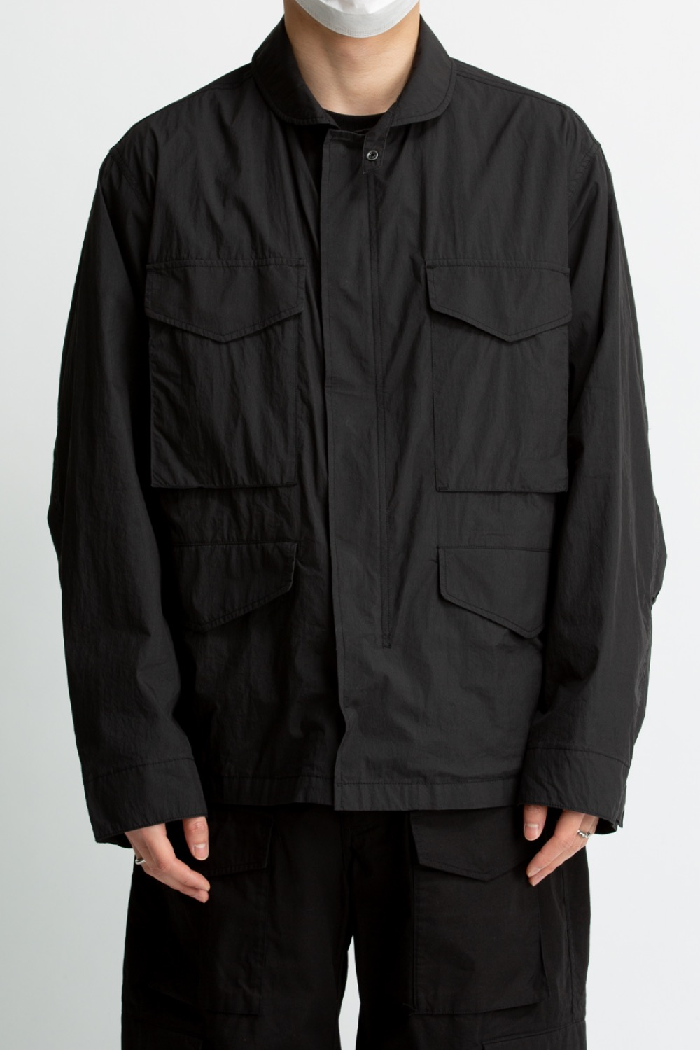 M21 JACKET BLACK WASHER BLACK