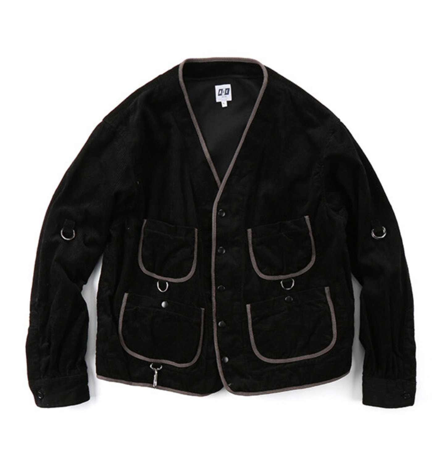 WRD JACKET BLACK COTTON 8W CORDUROY