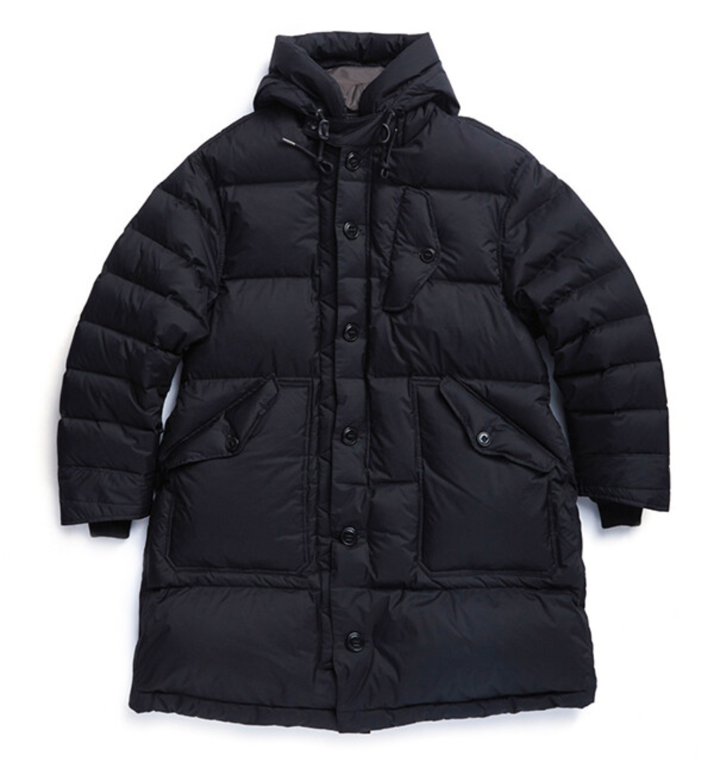 RAF COLD WEATHER DOWN PARKA BLACK SHIELD