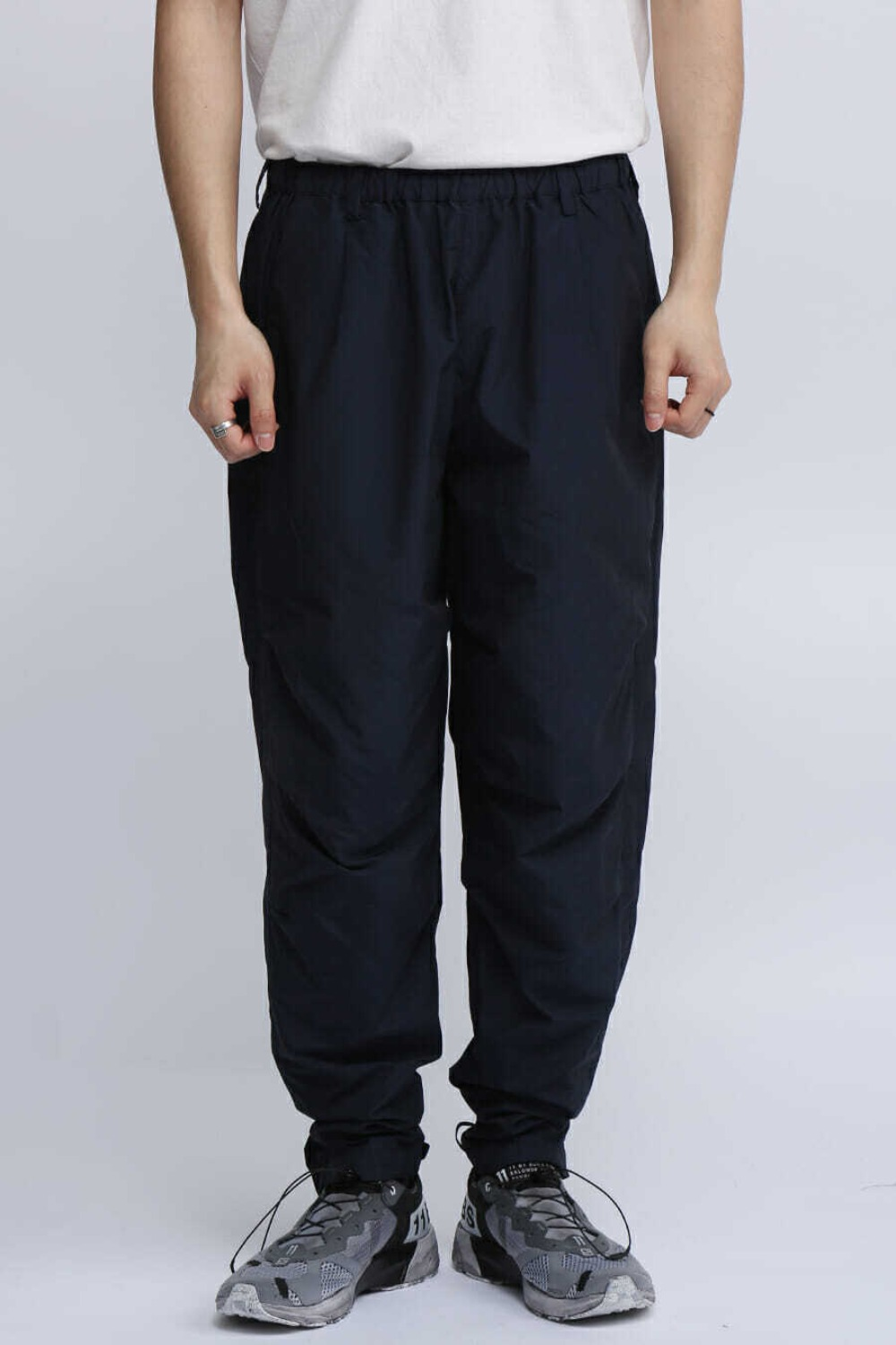 WOVEN LOOSE PANT NAVY