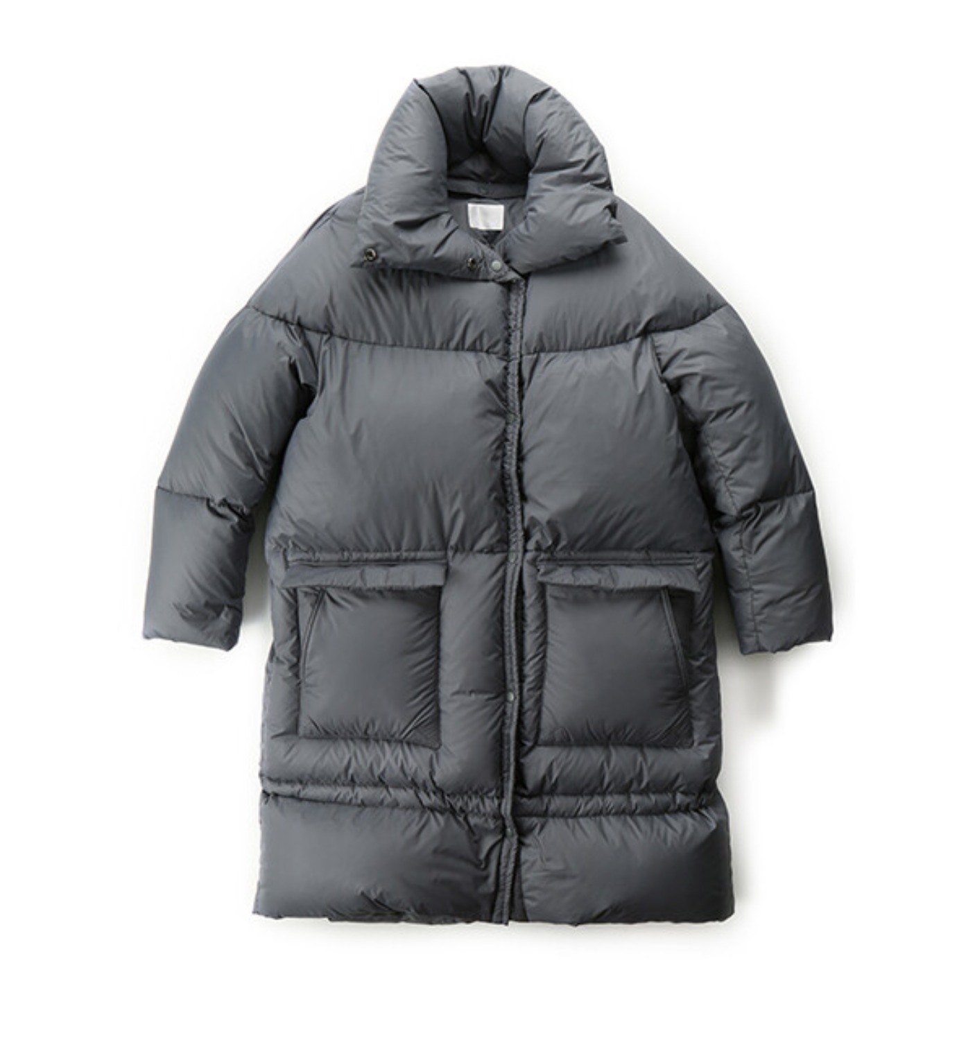 GOOSEDOWN LONG PUFFER GREY (MDS07PF02)