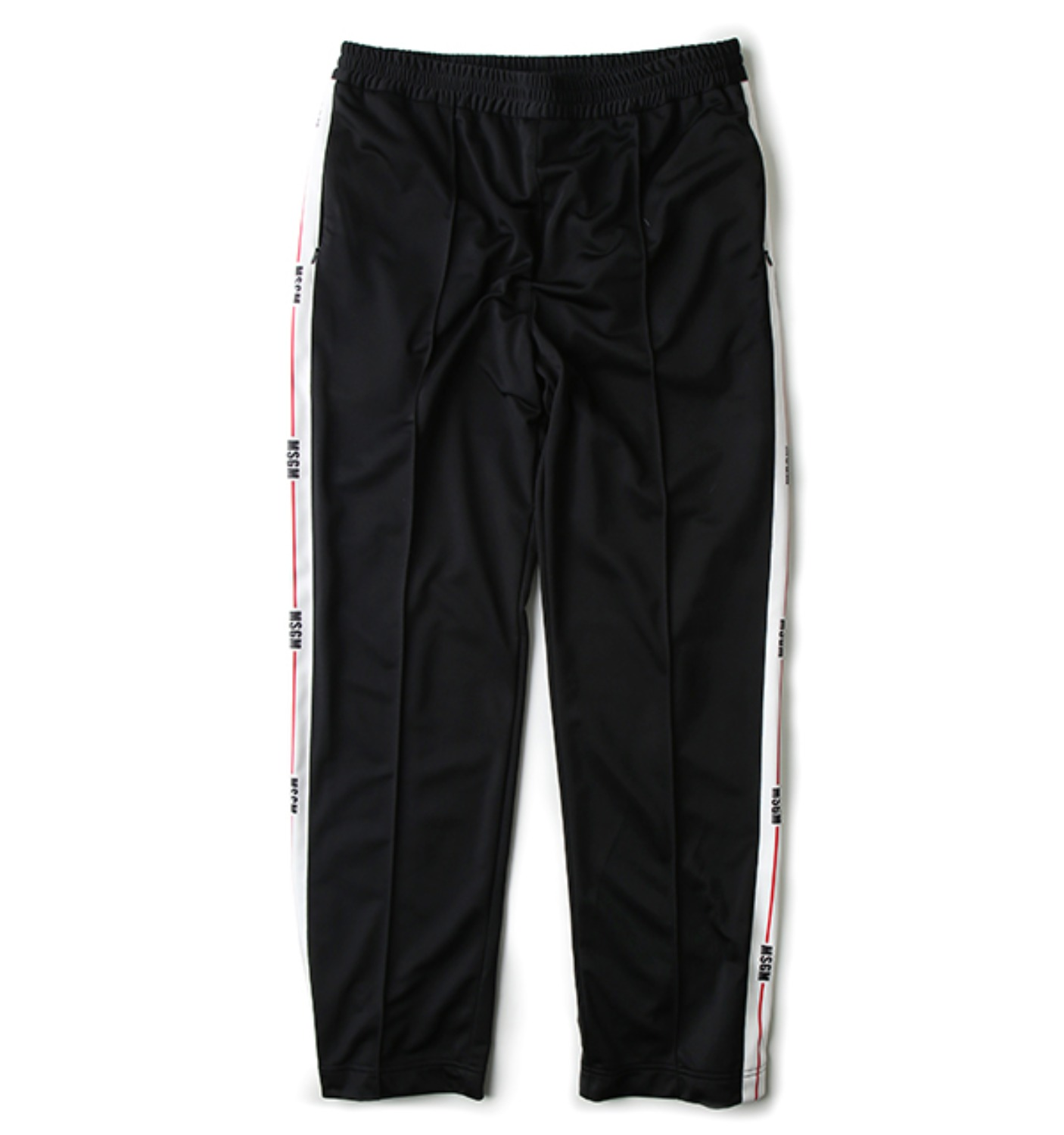 MSGM SIDE TAPE PANTS BLACK(2340MP13Y)