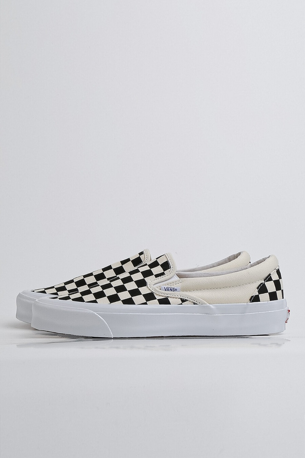 (RESTOCK)OG Classic Slip-On LX(Canvas) CHECKERBOARD