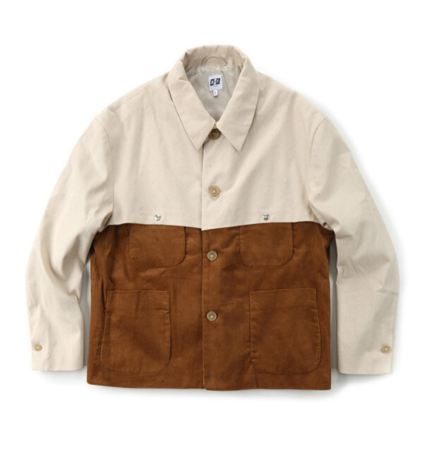 THT JACKET CHESTNUT COTTON 8W CORDUROY