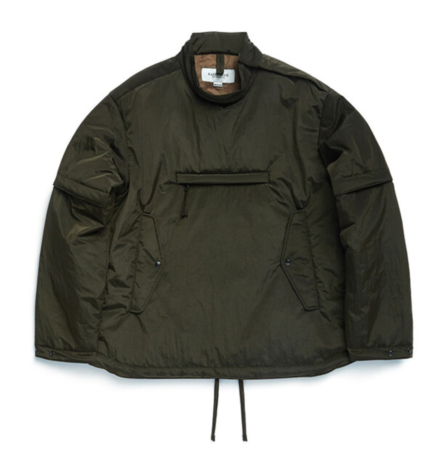SMOCK JUMPER OLIVE WASHER