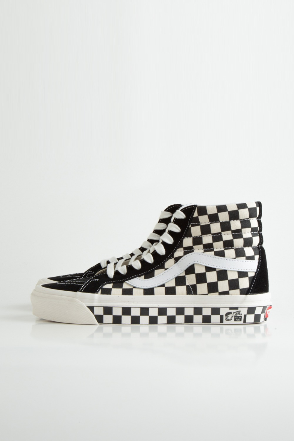 SK8-HI 38 DX(ANAHEIM FACTORY) OG BLACK/OG CHECKER