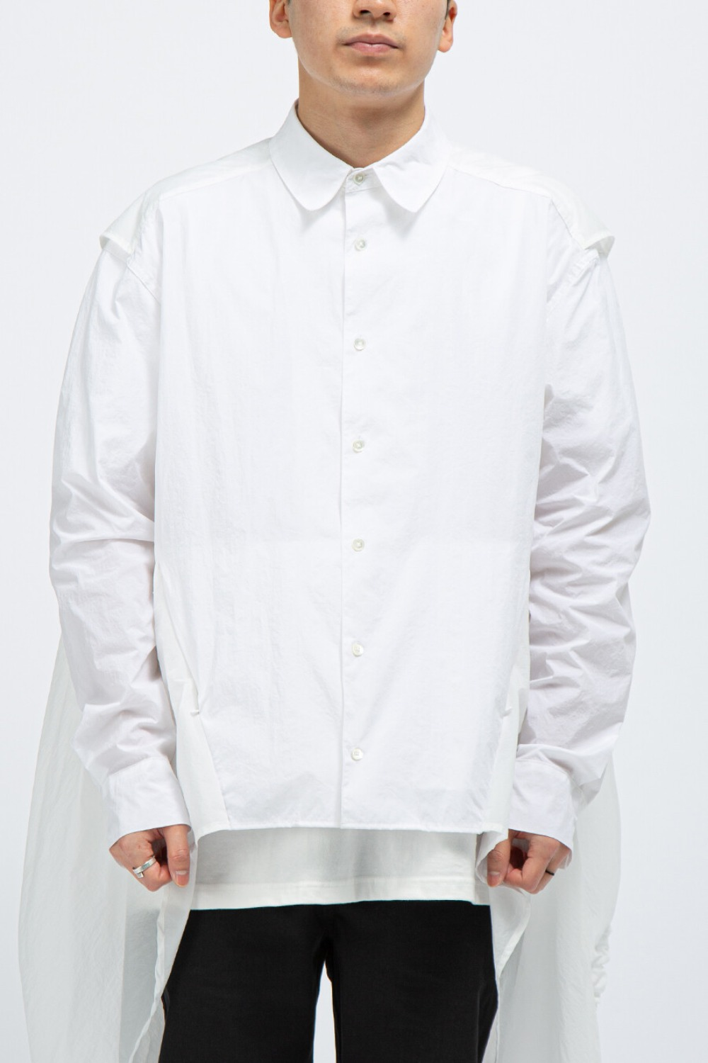 3.0 SHIRT CENTER WHITE