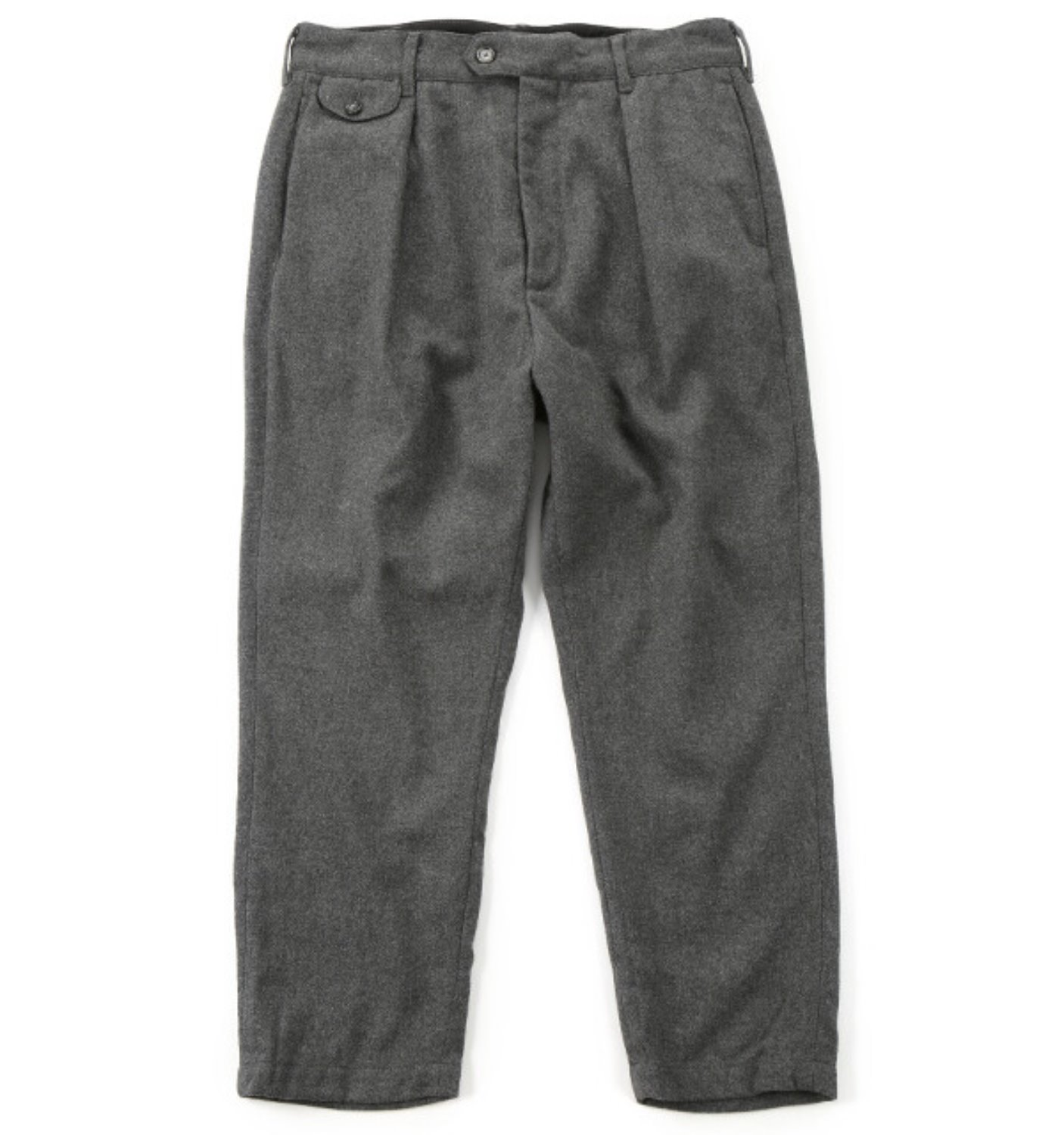RLJ PANT GREY WOOL POLY FLANNEL